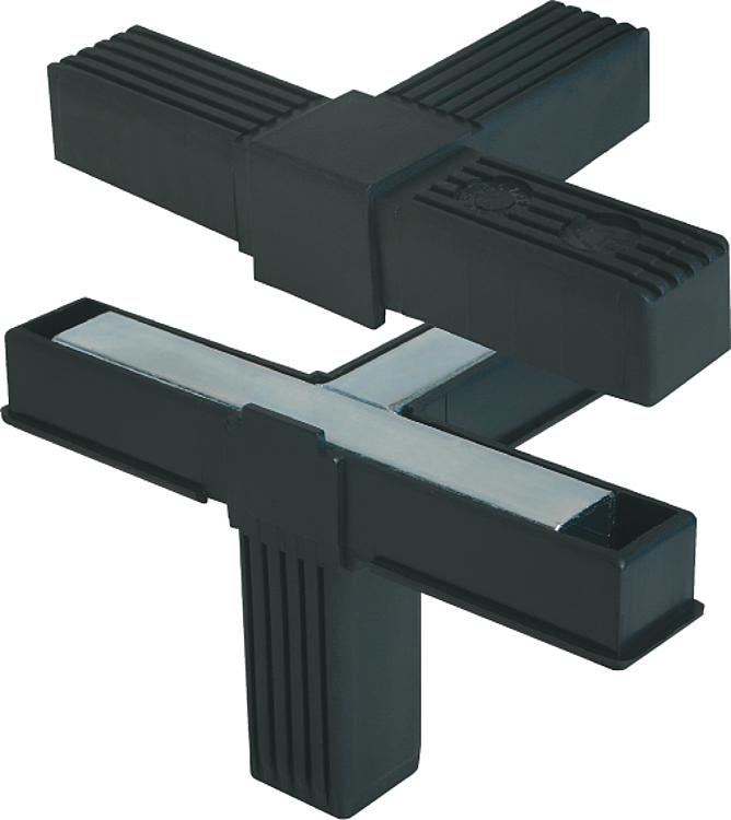 Kipp square tube connectors four way