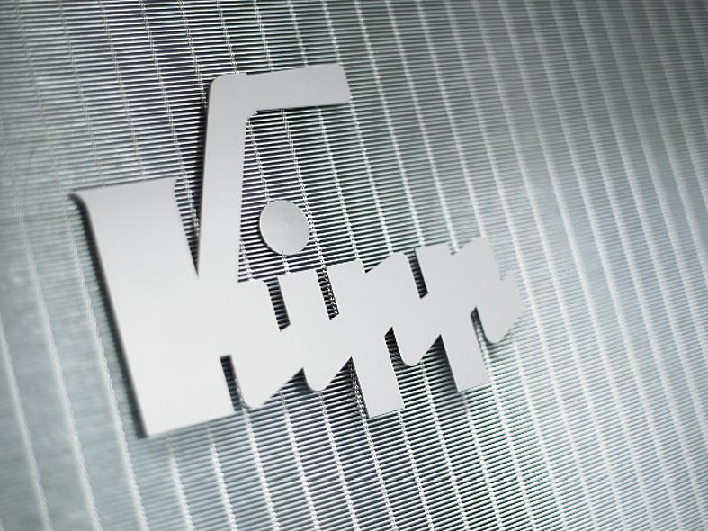 KIPP logo on metal